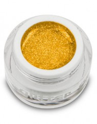 Glitter Gel Yellow 10ml