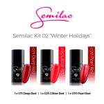 Semilac color Kit 02 -Winter Holidays