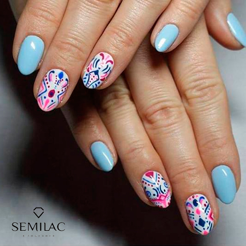 Nail Art Vol. 1 Summer Ed. by Maria Dzięgiel