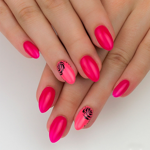 Semilac UV Hybrid 517 Neon Pink 7ml.