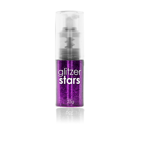 Glitter Spray Lila 25gr.