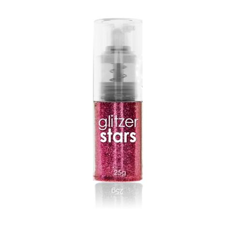 Glitter Spray Rosa 25gr.
