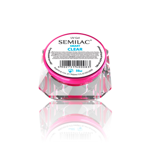 Semilac Builder Gel UV Smart Clear 50ml.