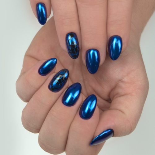 SemiFlash Mirror Blue Dragonfly 07
