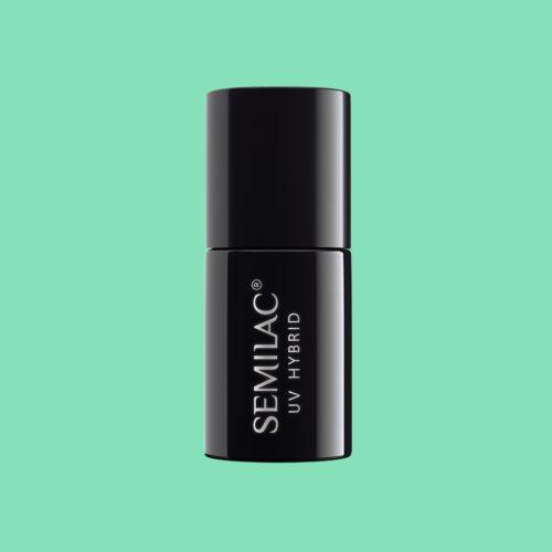 Semilac UV Hybrid 266 PasTells Green 7ml.