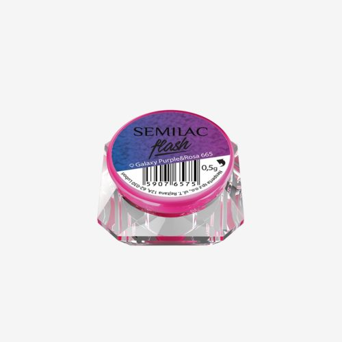 Semilac Flash Galaxy Purple&Rosa 665