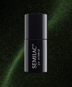 Semilac Cat Eye 610 Green 7ml.