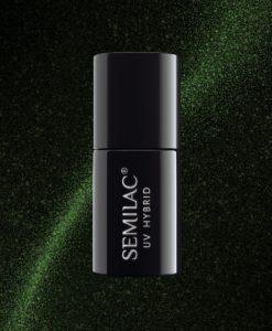Semilac Cat Eye 610 Green 7ml.