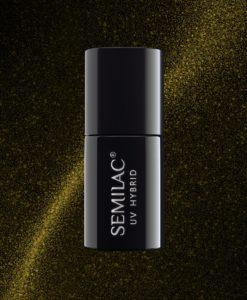 Semilac Cat Eye 612 Gold 7ml.