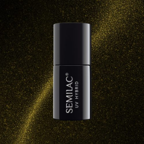 Semilac Cat Eye 612 Gold 7ml.