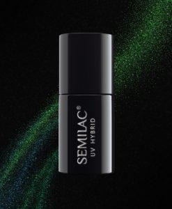 Semilac Cat Eye 3D Green 634 7ml.
