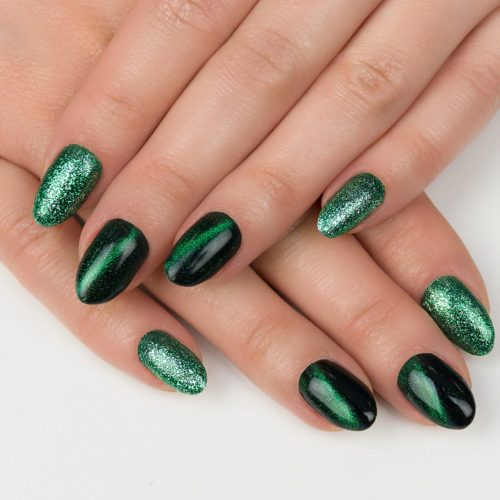 Semilac Cat Eye 3D Green 634 7ml.