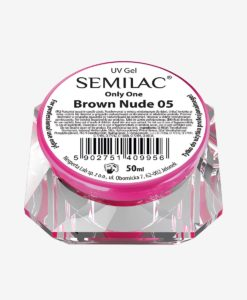 Semilac Only One One-phase 05 Brown Nude 50ml.