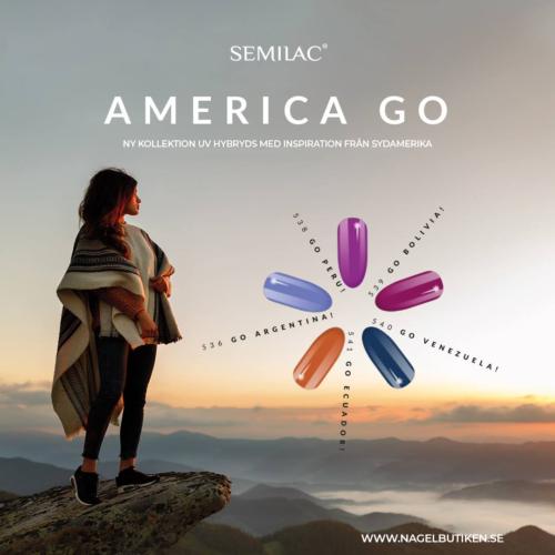 Semilac Go Argentina 536 7ml.