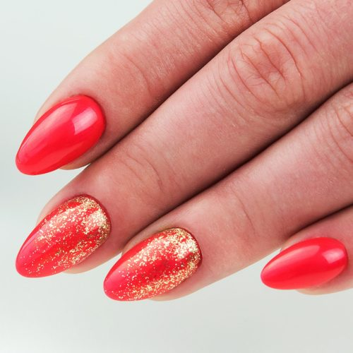037 GEL POLISH SEMILAC GOLD DISCO 7ML