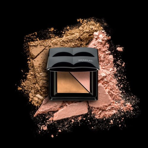 BRONZER AND HIGHLIGHTER SEMILAC ICE BRONZE