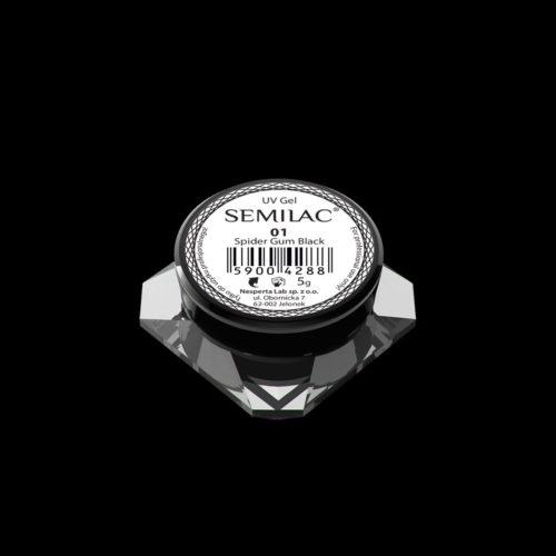 SEMILAC SPIDER GUM 01 BLACK
