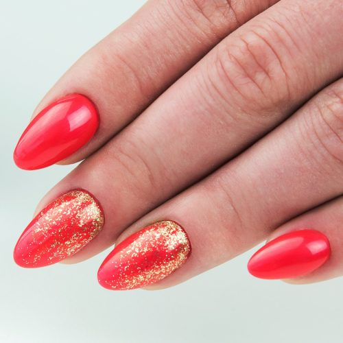 153 GEL POLISH SEMILAC RED MAGNAT 7ML