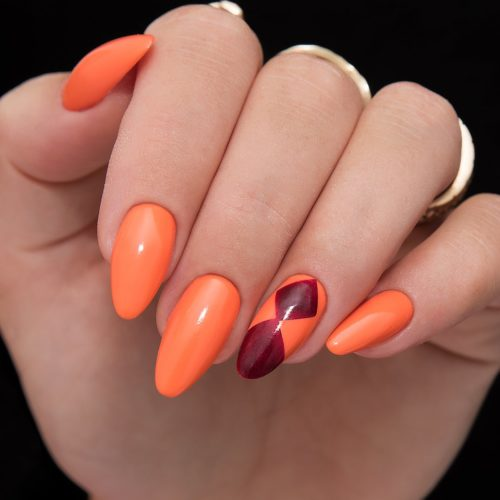 158 GEL POLISH SEMILAC ORIENT MANDARIN 7ML