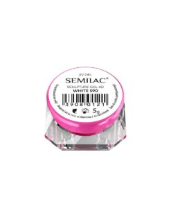 SEMILAC SCULPTURE GEL 4D WHITE 590 5gr