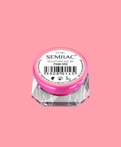 SEMILAC SCULPTURE GEL 4D WHITE 592 5gr