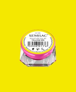 SEMILAC SCULPTURE GEL 4D WHITE 595 5gr