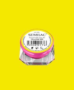 SEMILAC SCULPTURE GEL 4D YELLOW 595 5gr.