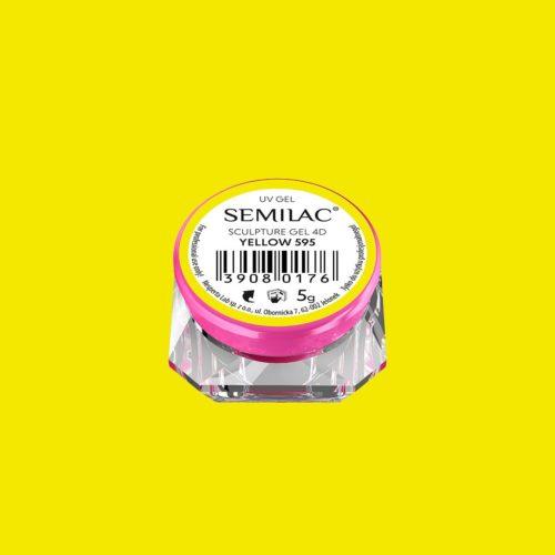 SEMILAC SCULPTURE GEL 4D WHITE 595 5gr