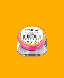 SEMILAC SCULPTURE GEL 4D WHITE 596 5gr