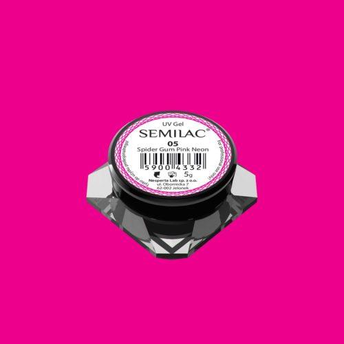 SEMILAC SPIDER GUM 05 NEON PINK