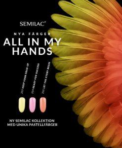 SEMILAC ALL IN MY HANDS ALLA FÄRGER