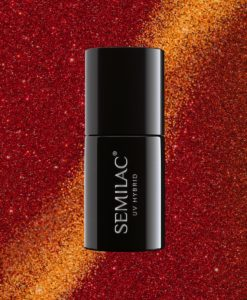 Semilac Magic Cat Eye 313 Red 7ml.