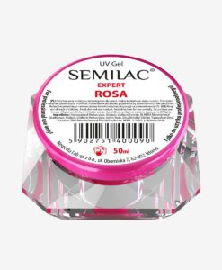 Semilac UV Gel Transparent Pink 50ml.