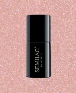 Semilac Extend 804 -5in1- Glitter Soft Beige 7ml