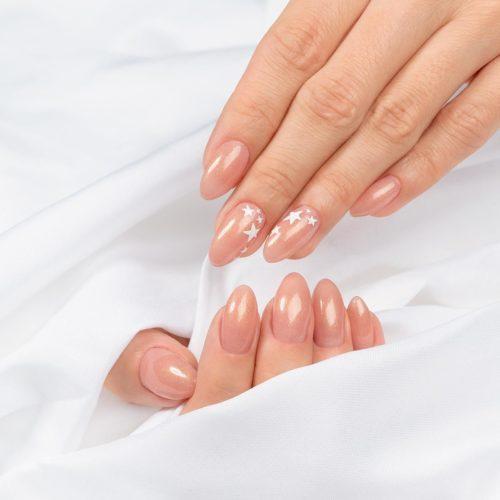 Semilac Extend 804 -5in1- Glitter Soft Beige 7ml