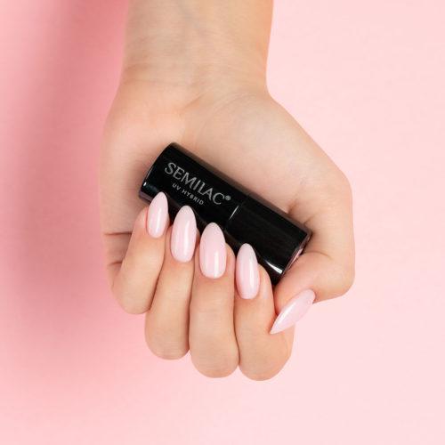 Semilac Extend 809 -5in1- Tender Pink 7ml.