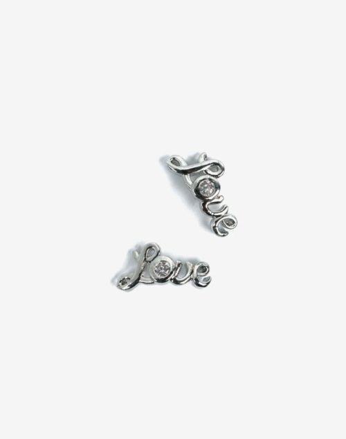Semilac® Dekorationer 793 Silver Love 2st.
