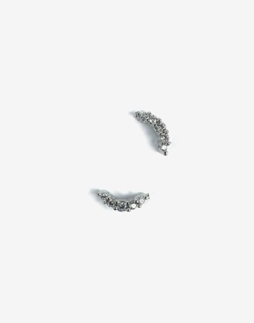 Semilac® Dekorationer 781 Silver Croissant 2st.