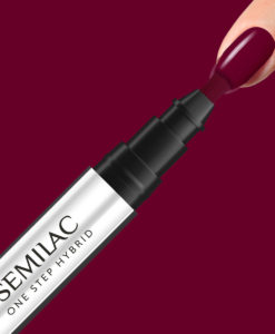 S580 SEMILAC ONE STEP HYBRID CRIMSON 3ML
