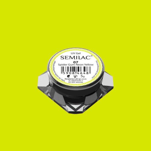 SEMILAC SPIDER GUM 07 NEON YELLOW