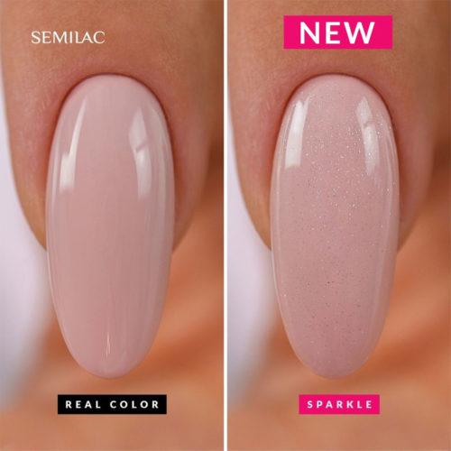 Semilac Top No wipe Sparkle Diamond 7ml.