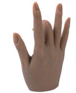 Silikon hand Snövit