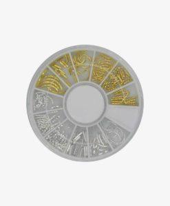 Blandade dekorationer Guld Silver