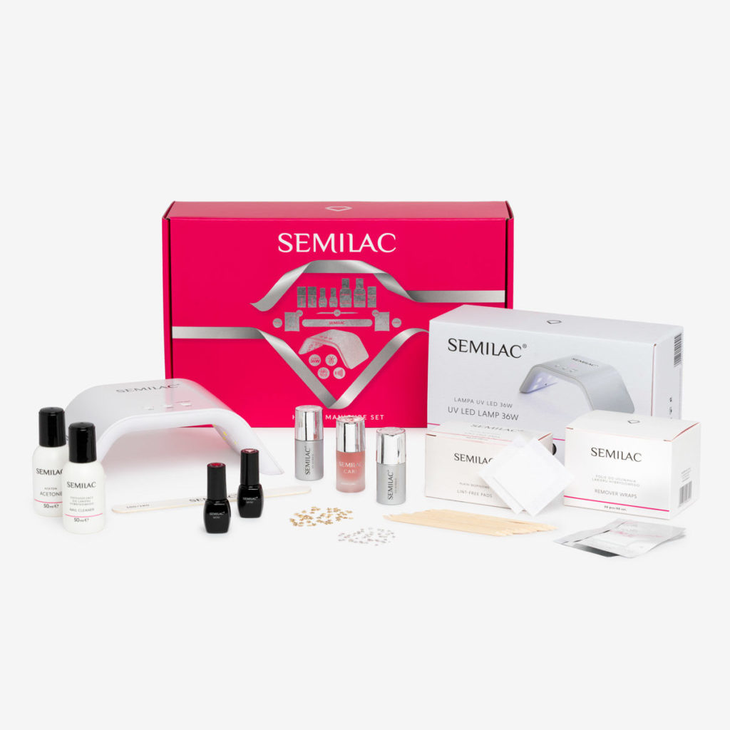 Semilac Charming Kit 24/48W LED Nail Art