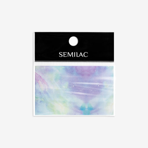 Semilac® Transfer Foil 09 Pink & Blue Marble