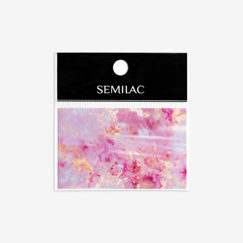 Semilac® Transfer Foil 12 Gold Rose Marble