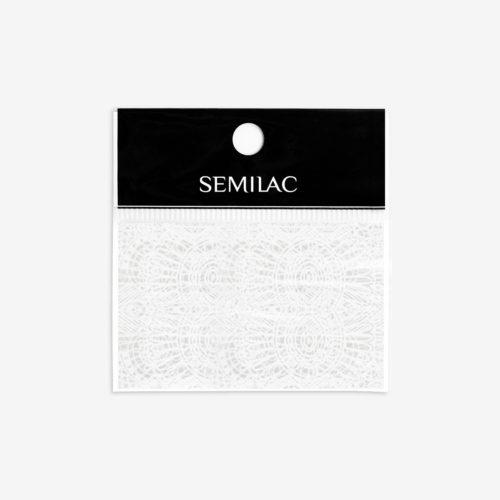 Semilac® Transfer Foil 16 White Lace