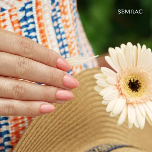 Semilac Vivid Coral Pink 371 7ml.