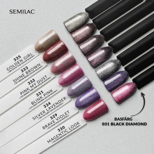 Semilac Magnetic Glow