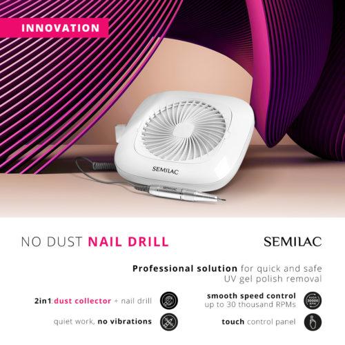 Semilac Nagelfil No Dust